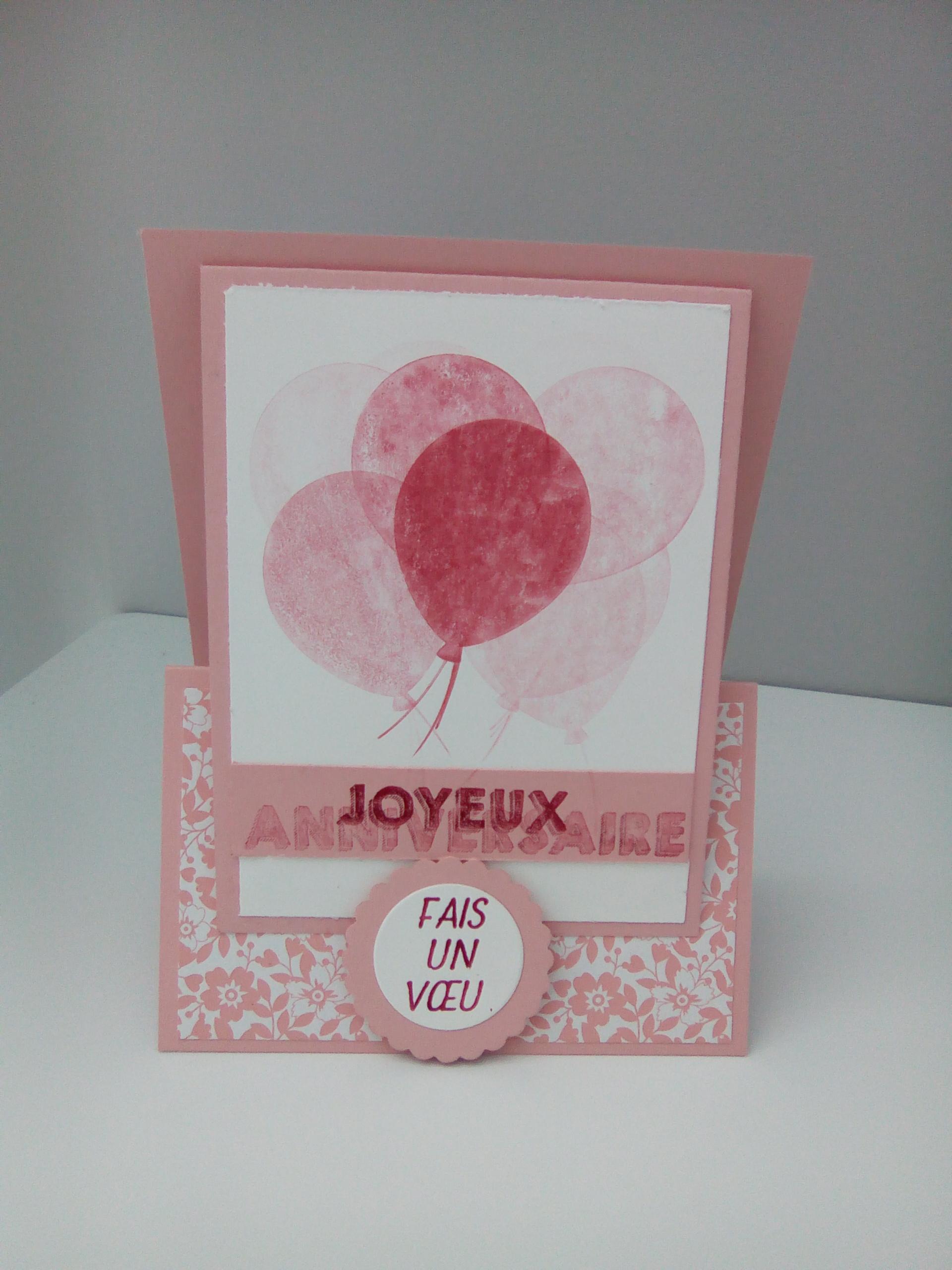 Ptitescrapeuse carte anniversaire petite fille - Carte anniversaire petite fille ...